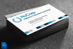 NuCorp Corporate Business Card