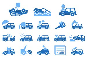 Car Insurance Icons
