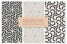 Geometric Seamless Patterns Set 8