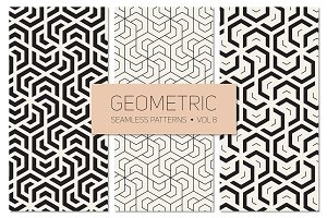 Geometric Seamless Patterns Set 8