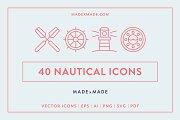 Line Icons – Nautical