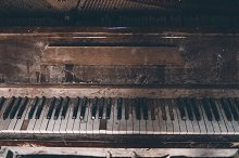 Old spoiled piano by  in Arts & Entertainment