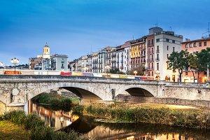 Girona twilight