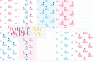 whale digital paper