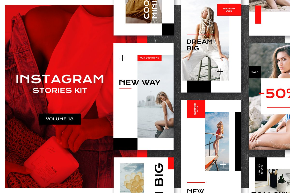 Instagram Stories Kit (Vol.18)