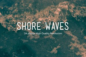 24 Shore Waves Photos HQ | V3