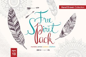 Free Spirit Pack (vector design)