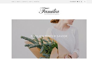 Familia - Clean Blogger Template