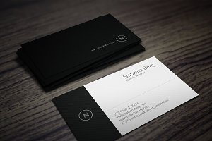 Minimal Business Card Vol. 02