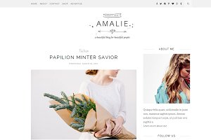 Amalie - Responsive Blogger Template