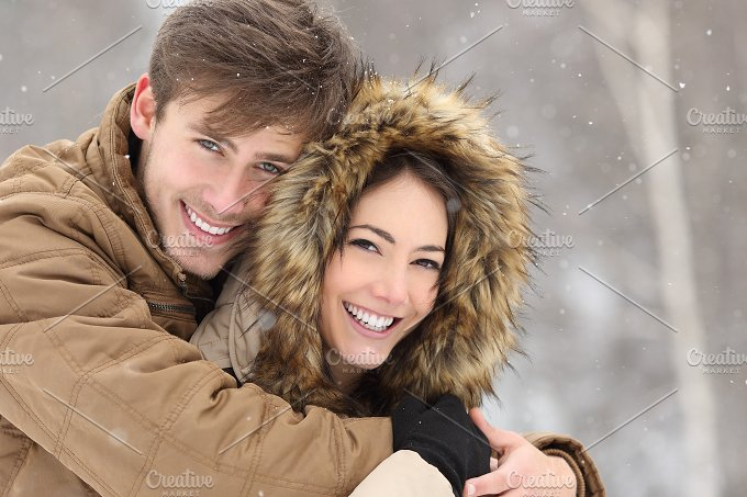 Couple laughing with a perfect smile and white teeth.jpg - Beauty & Fashion
