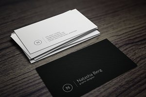 Minimal Business Card Vol. 03