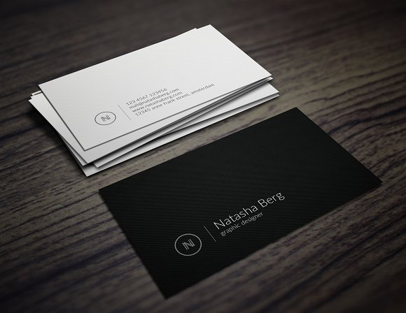 Minimal Business Card Vol. 03 - Business Cards
