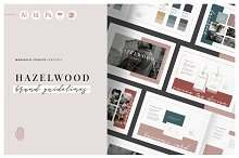HAZELWOOD | Brand Guidelines by  in Brochures