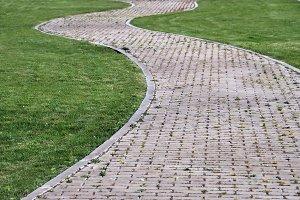 Urban path horizontal