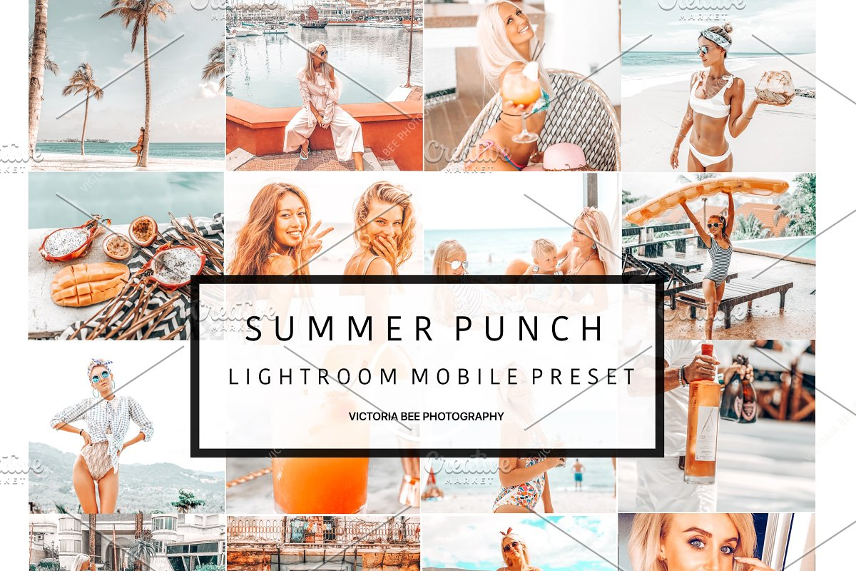 5 Mobile Presets SUMMER PUNCH
