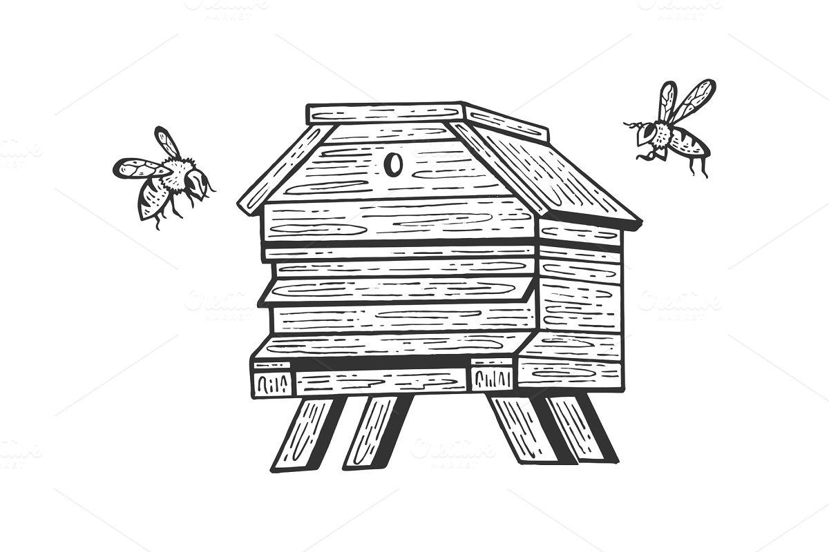 save  bee hive