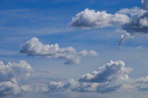 Spanish cloudy sky