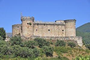 Mombeltran Castle, Avila. Spain