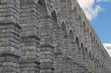 Spain. Aqueduct of Segovia.