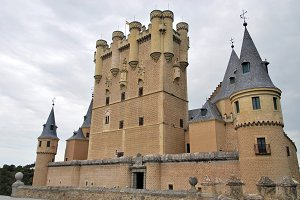 Alcazar of Segovia. Spain