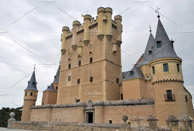 Alcazar of Segovia. Spain - Architecture