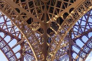 Eiffel tower structure Paris