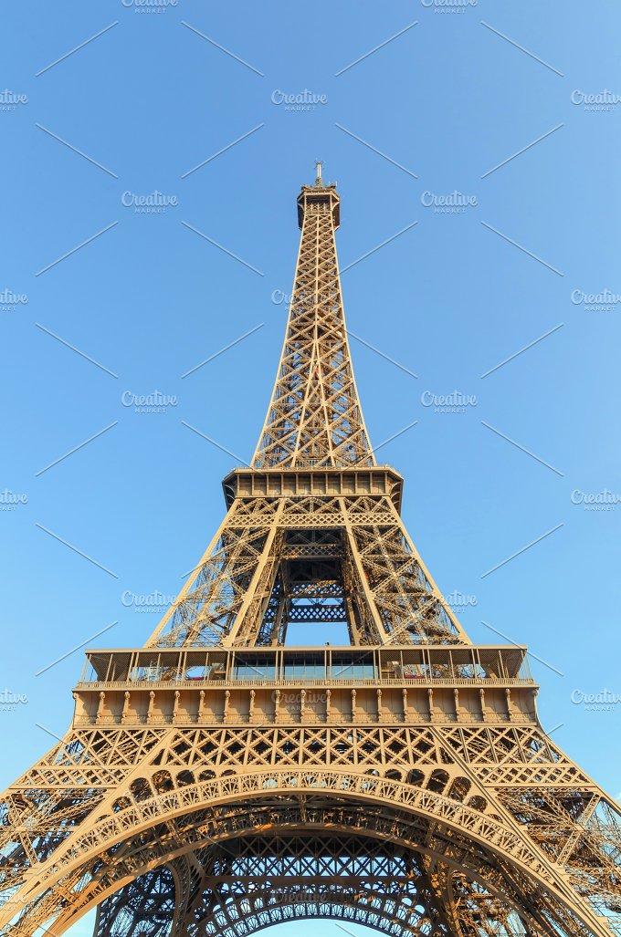 Eiffel tower paris architecture photos on creative market for Eiffel architect