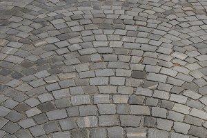 Cobblestone ground