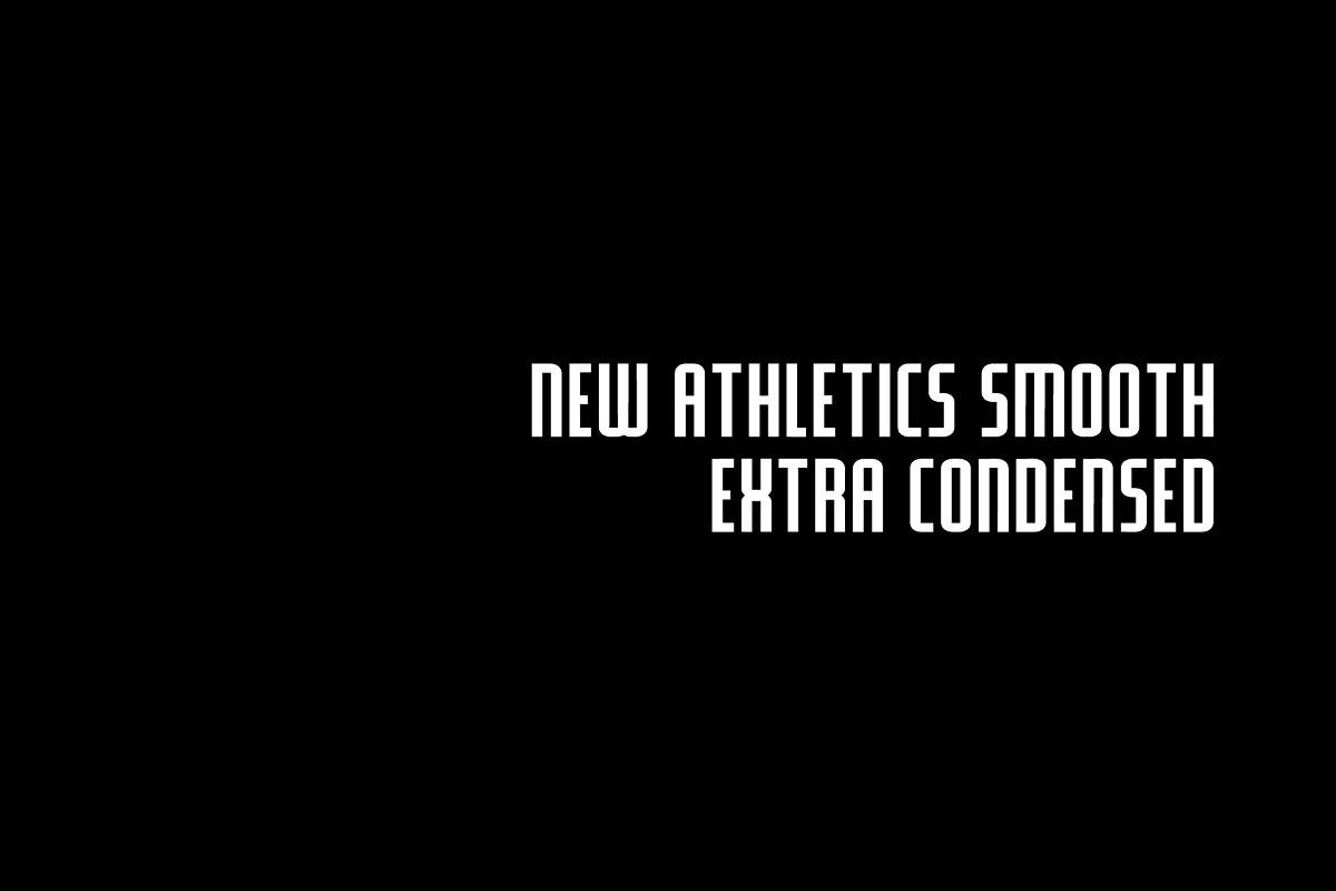 NEW ATHLETICS SMOOTH EXTRA CONDENSED
