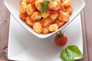 Italian food - Gnocchi