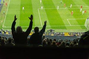 Spectators. Soccer complains