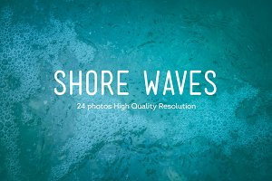 24 Shore Waves Photos HQ | V4