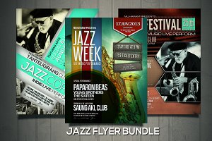 Jazz Fyler / Poster Bundle