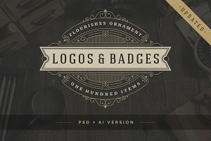 100 ornaments logos & monograms