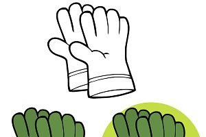 Gardening Hand Gloves Collection