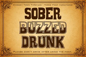 Whiskey Town Font