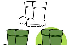 Gardening Rubber Boots Collection