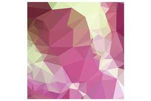 Light Thulian Pink Abstract Low Poly