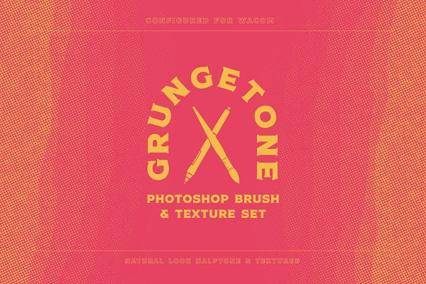 Grungetone - Halftone Brushes