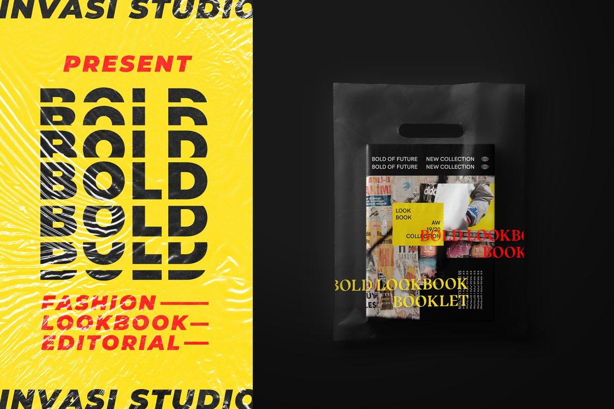 BOLD-Fashion Lookbook Editorial ~ Magazine Templates