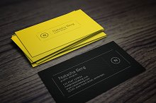 Minimal Business Card Vol. 04