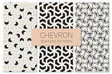 Chevron Seamless Patterns Set 2