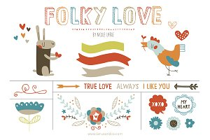 Folky Love (Vector)