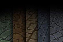 Texture Set 01 by 3dFancy Team in Brick