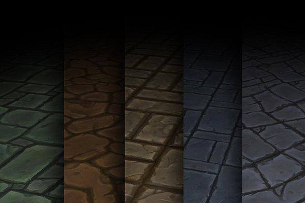 3D Brick: 3Dfancy - Texture Set 01
