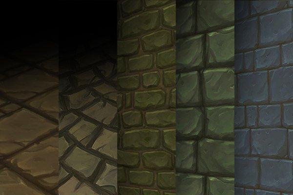 3D Brick: 3Dfancy - Texture Set 04