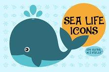 Sea Life Icons