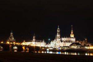 Night Scene of Dresden