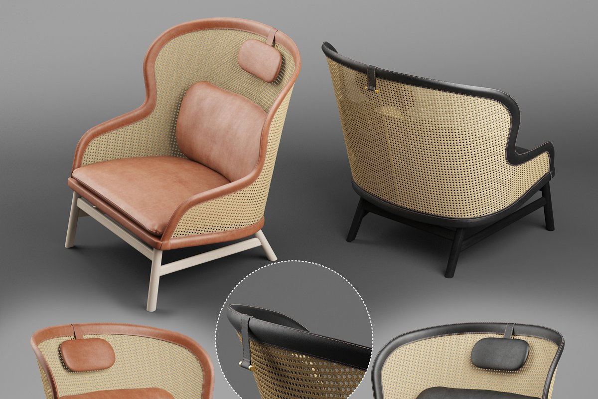 Dandy armchair in Furniture